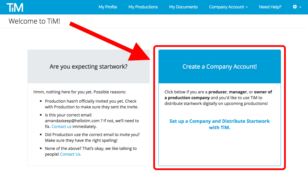 New_User_Dashboard_Welcome_to_TiM_Expecting_Startwork_Create_Company_Account.png