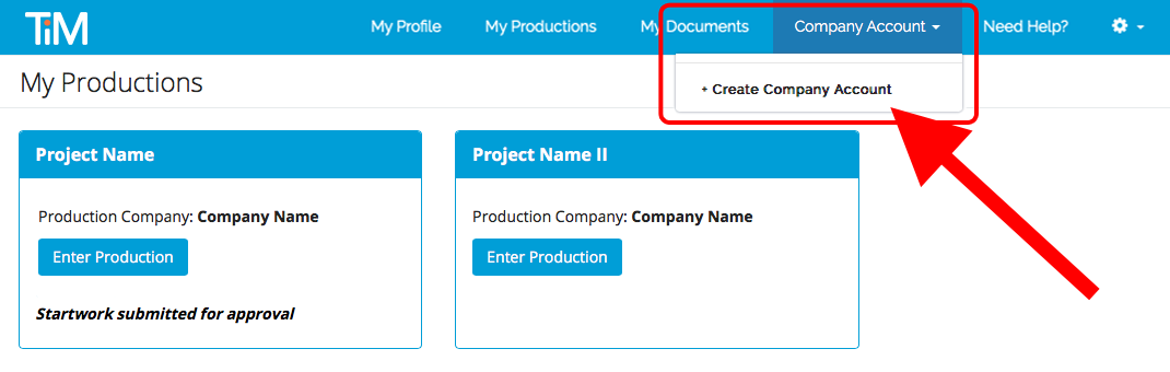 My_Productions_Create_Company_Account_drop_down.png